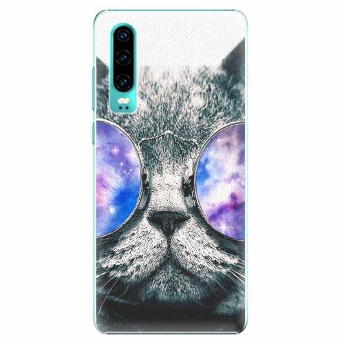 Plastový kryt iSaprio - Galaxy Cat - Huawei P30
