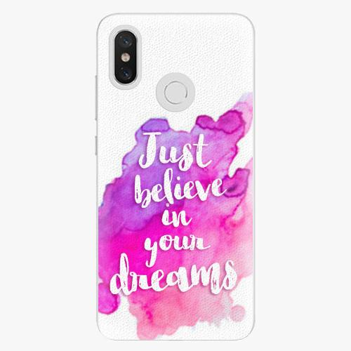 Plastový kryt iSaprio - Believe - Xiaomi Mi 8