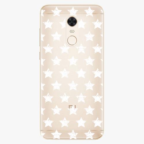 Plastový kryt iSaprio - Stars Pattern - white - Xiaomi Redmi 5 Plus
