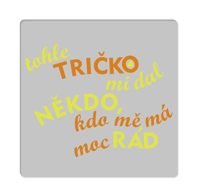 - Pánské humorné tričko - Rád, vel. XXL