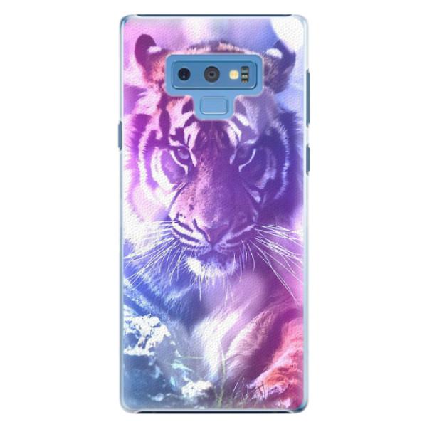 Plastové pouzdro iSaprio - Purple Tiger - Samsung Galaxy Note 9