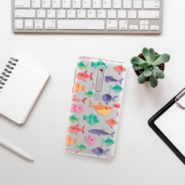 Plastové pouzdro iSaprio - Fish pattern 01 - Nokia 6.1