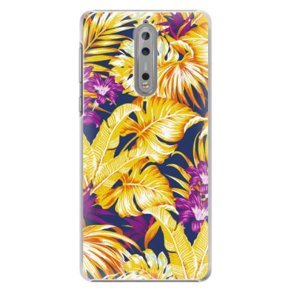 Plastové pouzdro iSaprio - Tropical Orange 04 - Nokia 8