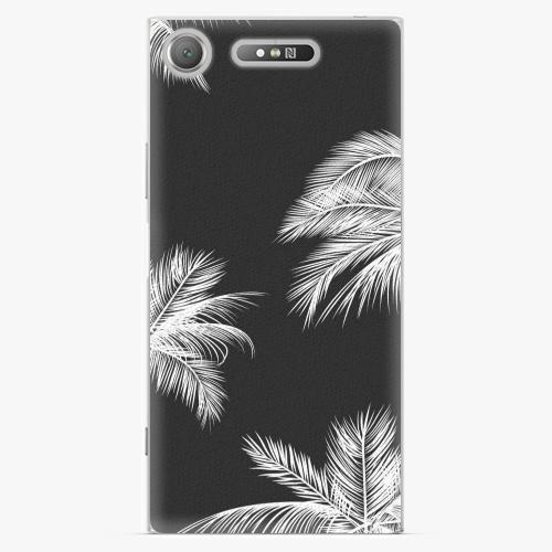 Plastový kryt iSaprio - White Palm - Sony Xperia XZ1