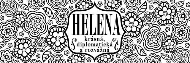 ALBI Třpytivý svícen - Helena