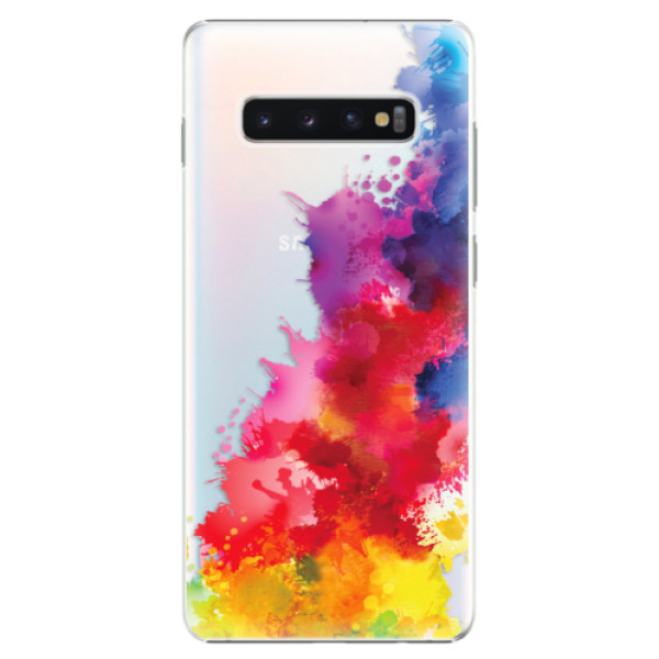 Plastové pouzdro iSaprio - Color Splash 01 - Samsung Galaxy S10+