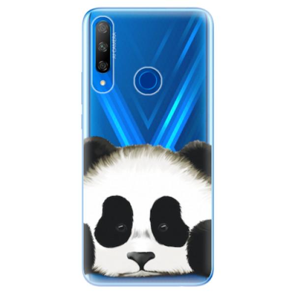Odolné silikonové pouzdro iSaprio - Sad Panda - Huawei Honor 9X