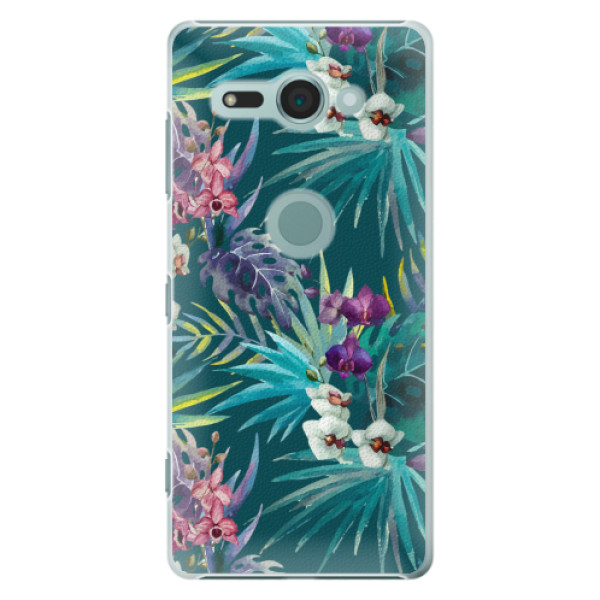Plastové pouzdro iSaprio - Tropical Blue 01 - Sony Xperia XZ2 Compact