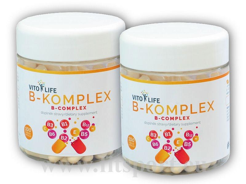 2x B-Komplex 100 kapslí