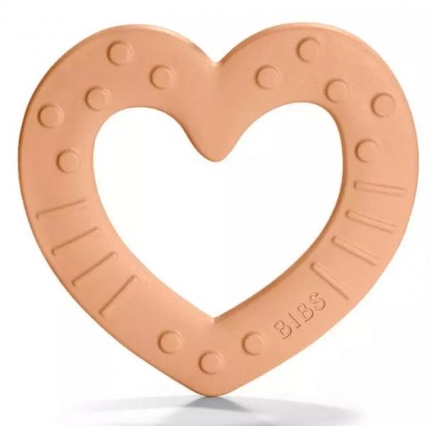 bibs-baby-bitie-heart-peach-silikonove-kousatko-srdicko-merunkove