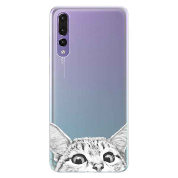 Silikonové pouzdro iSaprio - Cat 02 - Huawei P20 Pro
