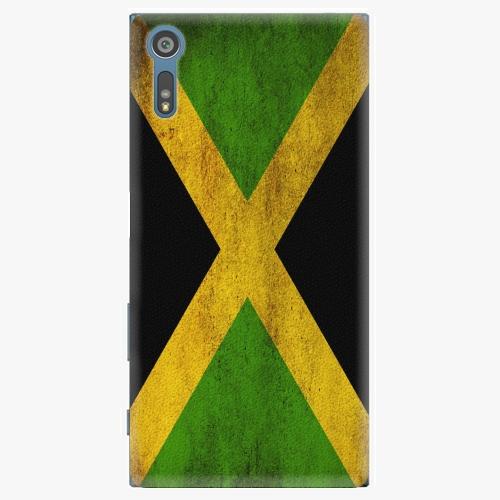 Plastový kryt iSaprio - Flag of Jamaica - Sony Xperia XZ