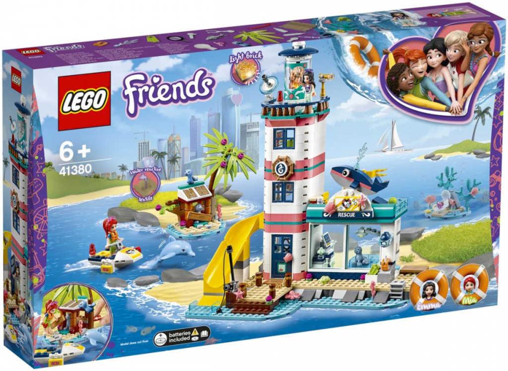 LEGO FRIENDS Záchranné centrum u majáku Světlo 41380 STAVEBNICE