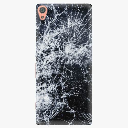 Plastový kryt iSaprio - Cracked - Sony Xperia XA