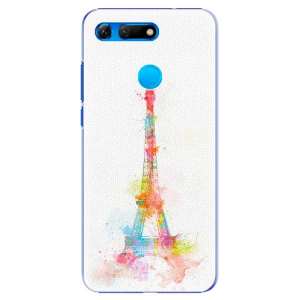 Plastové pouzdro iSaprio - Eiffel Tower - Huawei Honor View 20
