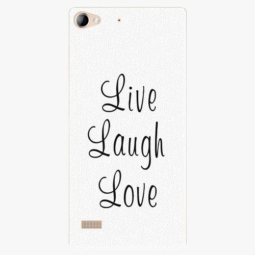 Plastový kryt iSaprio - Live Laugh Love - Lenovo Vibe X2