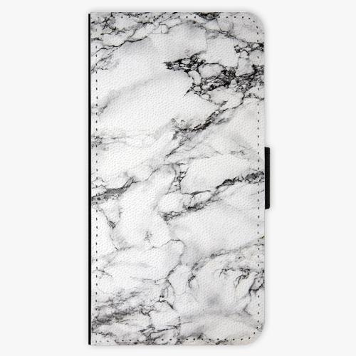 Flipové pouzdro iSaprio - White Marble 01 - Huawei Ascend P9 Lite