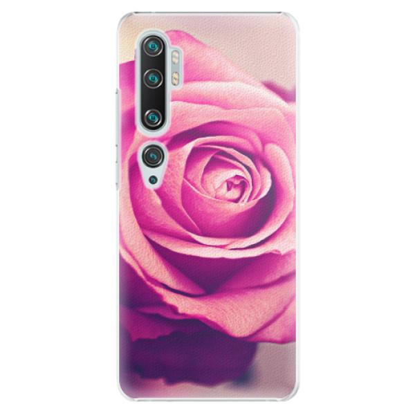 Plastové pouzdro iSaprio - Pink Rose - Xiaomi Mi Note 10 / Note 10 Pro