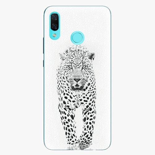 Plastový kryt iSaprio - White Jaguar - Huawei Nova 3