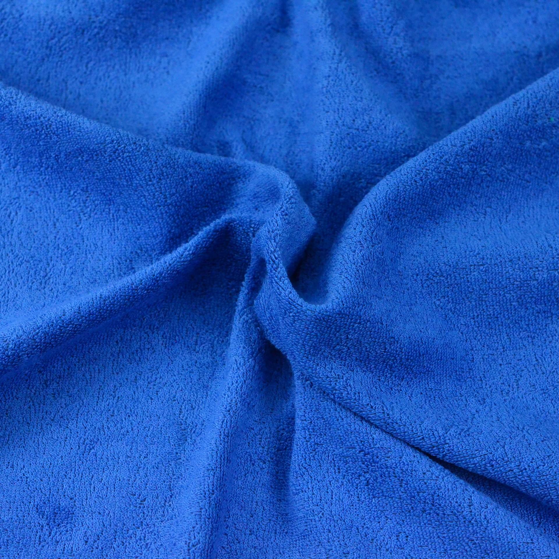 Froté prostěradlo tmavě modré, Výběr rozměru - Dětské 70x140cm