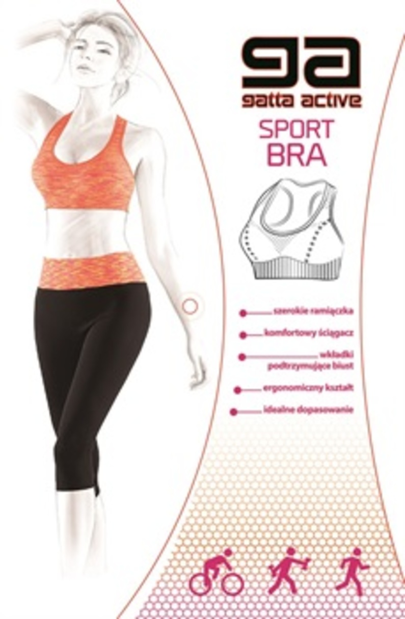 Sportovní podprsenka - TOP - GATTA BODYWEAR
