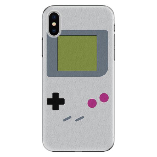 Plastové pouzdro iSaprio - The Game - iPhone X