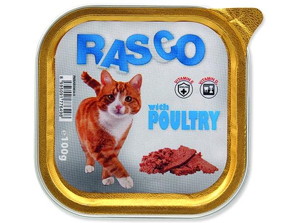 Paštika RASCO Cat s drůbežím 100g