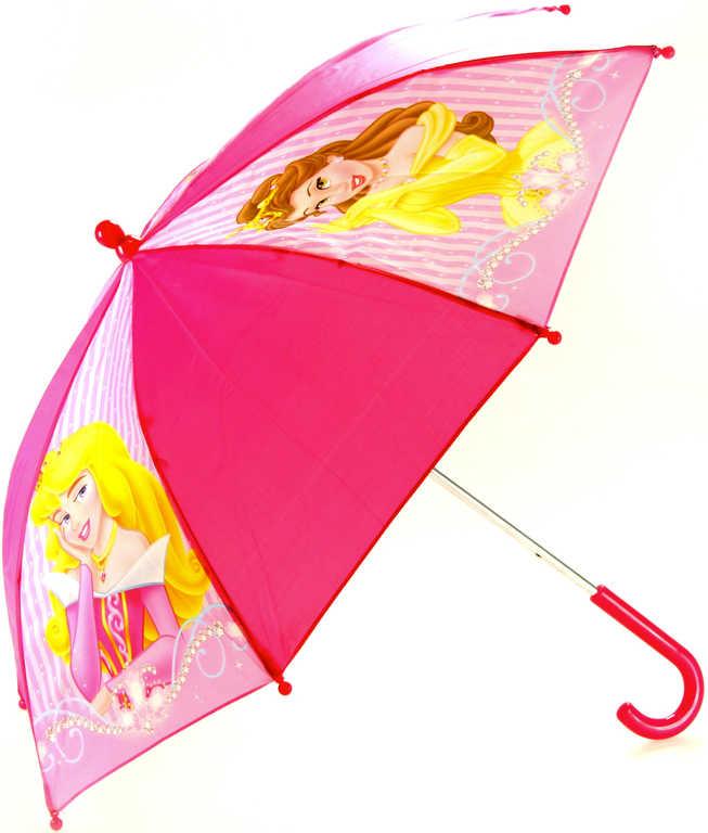 Deštník dětský Disney Princezny manuální otevírání 55cm