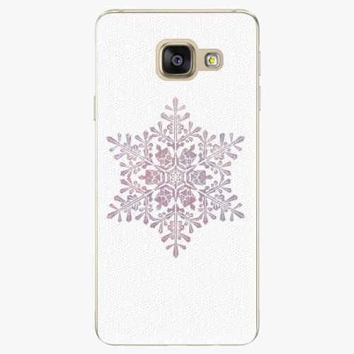 Plastový kryt iSaprio - Snow Flake - Samsung Galaxy A3 2016