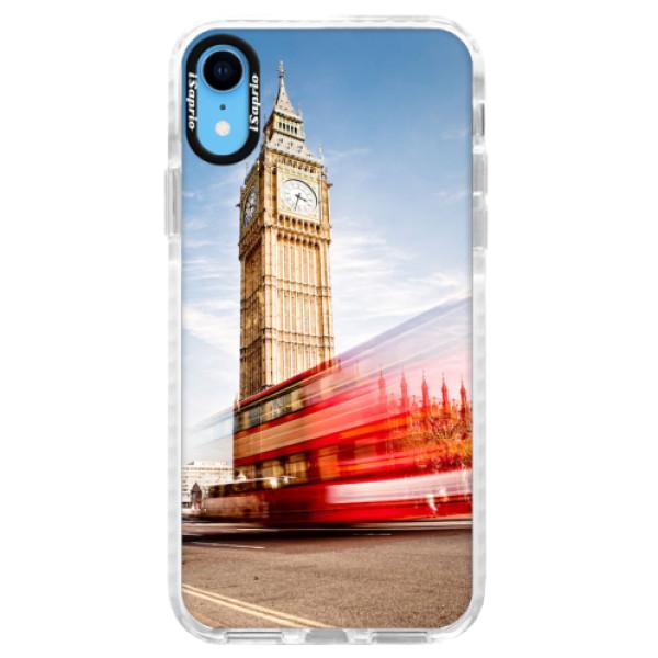 Silikonové pouzdro Bumper iSaprio - London 01 - iPhone XR