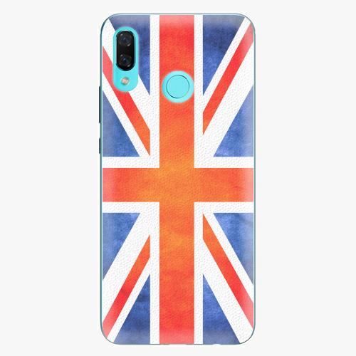 Plastový kryt iSaprio - UK Flag - Huawei Nova 3