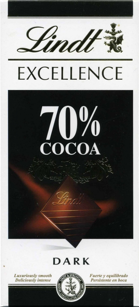 Lindt Excellence 70% 100 g