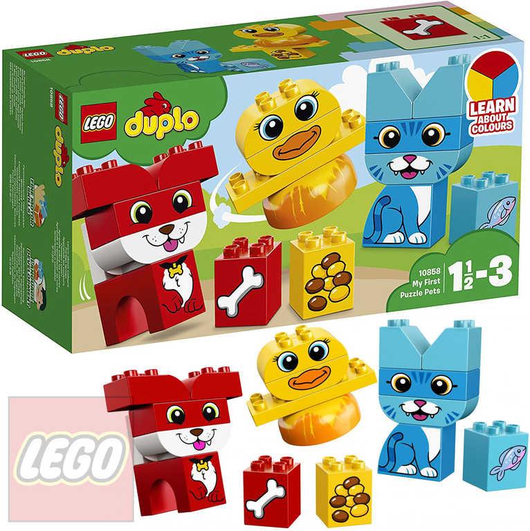 LEGO DUPLO Moji první skládací mazlíčci STAVEBNICE 10858