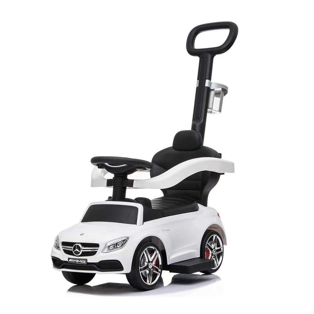 Odrážedlo s vodící tyčí Mercedes Benz AMG C63 Coupe Bayo