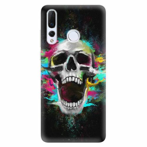 Silikonové pouzdro iSaprio - Skull in Colors - Huawei Nova 4