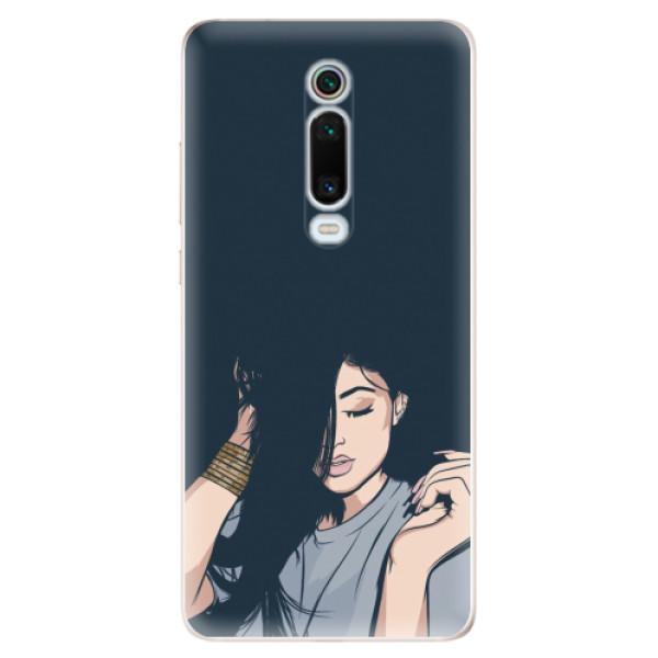Odolné silikonové pouzdro iSaprio - Swag Girl - Xiaomi Mi 9T Pro