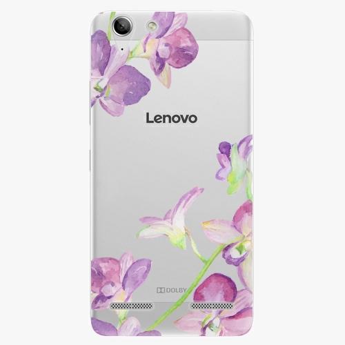 Plastový kryt iSaprio - Purple Orchid - Lenovo Vibe K5