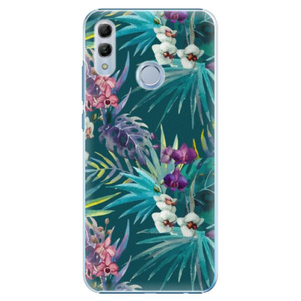 Plastové pouzdro iSaprio - Tropical Blue 01 - Huawei Honor 10 Lite