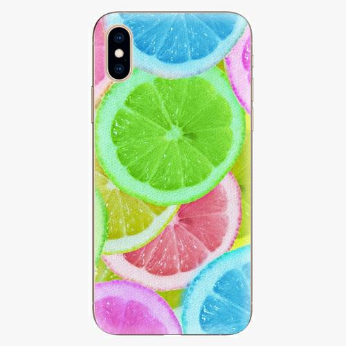 Plastový kryt iSaprio - Lemon 02 - iPhone XS