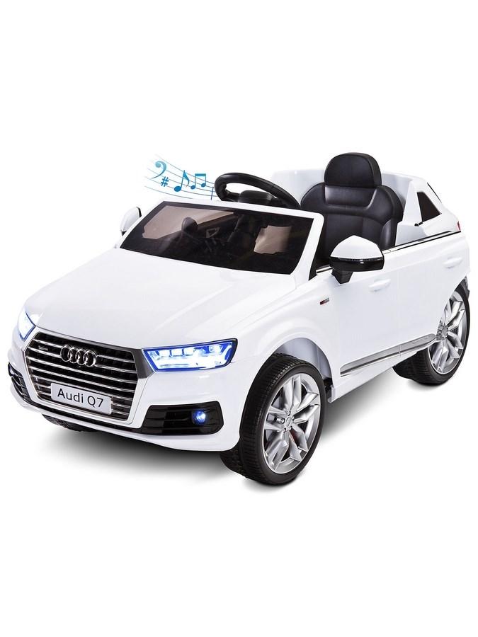 Elektrické autíčko Toyz AUDI Q7-2 motory - white - bílá