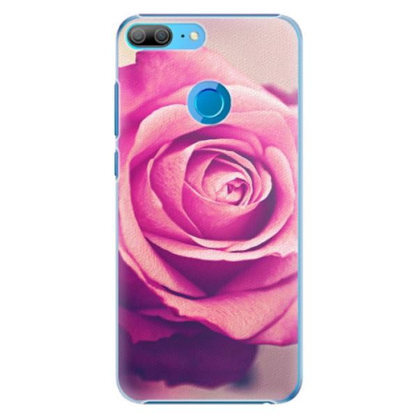 Plastové pouzdro iSaprio - Pink Rose - Huawei Honor 9 Lite