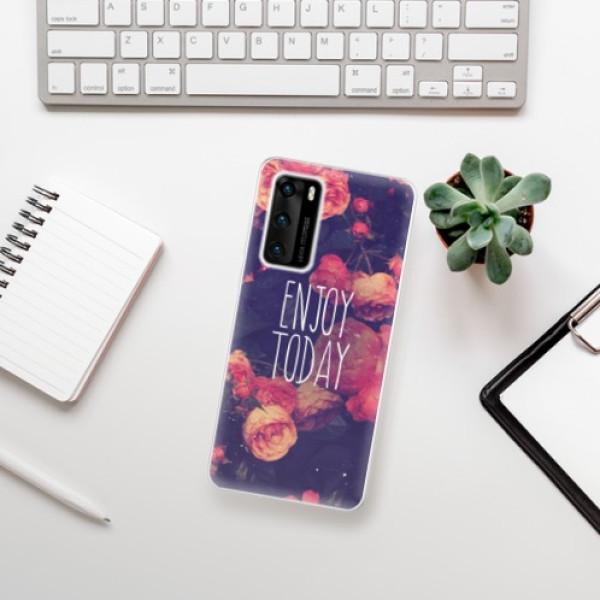 Odolné silikonové pouzdro iSaprio - Enjoy Today - Huawei P40