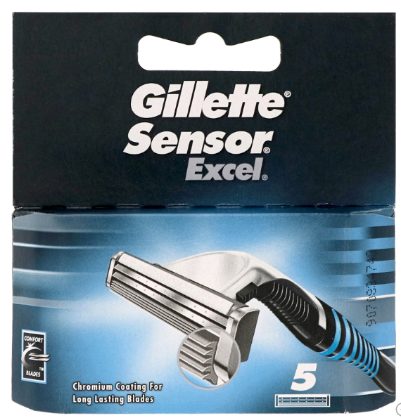Sensor Excel, náhradní hlavice, balení 5 kusy