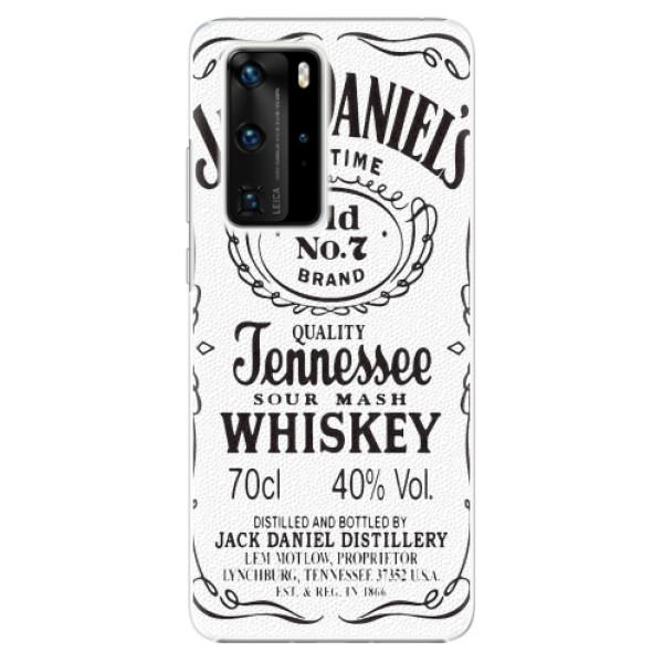 Plastové pouzdro iSaprio - Jack White - Huawei P40 Pro