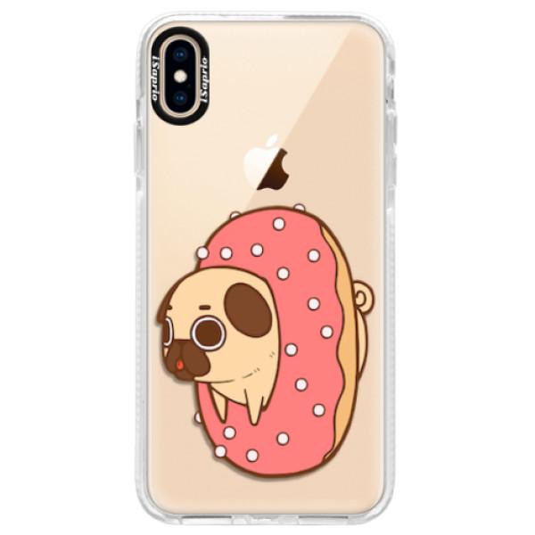 Silikonové pouzdro Bumper iSaprio - Dog 04 - iPhone XS Max