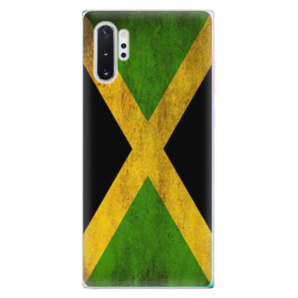 Odolné silikonové pouzdro iSaprio - Flag of Jamaica - Samsung Galaxy Note 10+