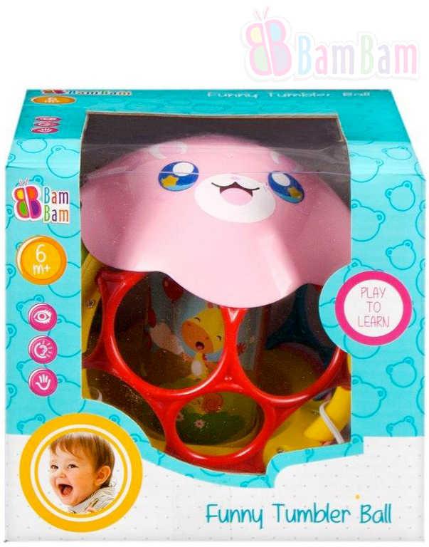 ET BAM BAM Baby koule zábavná zvoní různé druhy pro miminko