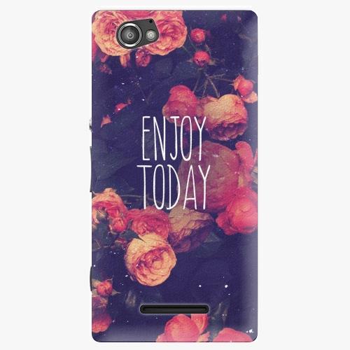 Plastový kryt iSaprio - Enjoy Today - Sony Xperia M