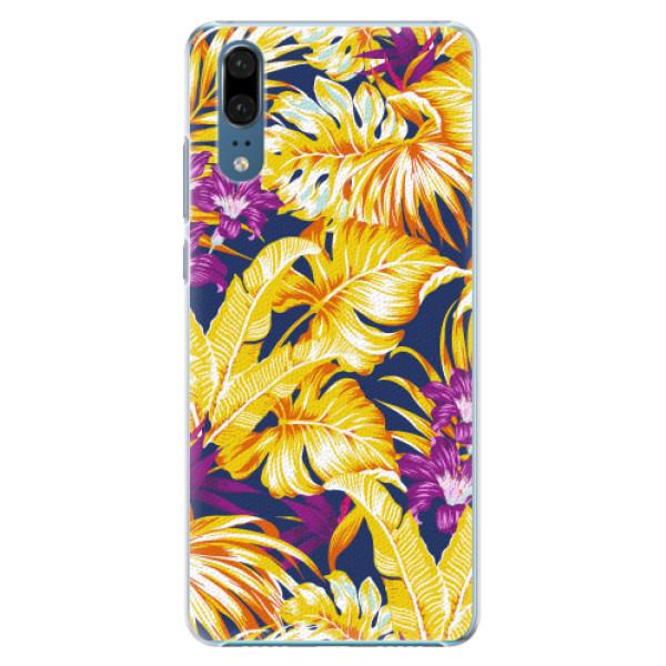 Plastové pouzdro iSaprio - Tropical Orange 04 - Huawei P20
