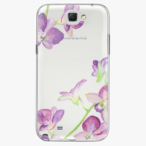 Plastový kryt iSaprio - Purple Orchid - Samsung Galaxy Note 2